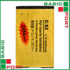 2430mAh C-S2 High Capacity Gold Battery for BlackBerry 8300 / 8700 / 9300