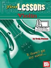 BEGINNER VIOLIN FIRST LESSONS BOOK