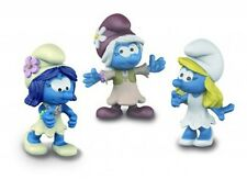 Schleich - Smurf MOVIE SET 2 (2017) Set of 3 Smurfettes (20801) *NEW* Smurfs