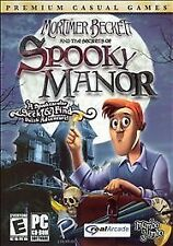 MORTIMER BECKETT and the Secrets of SPOOKY MANOR PC Win XP / 2000