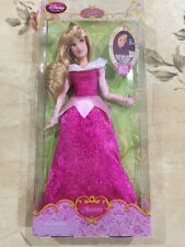 "Disney Store Princess Aurora Doll Classic  Collection 12"" Sleeping Beauty NEW"