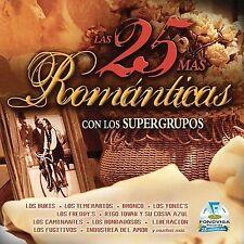 25 Mas Romanticas Con Los Supergrupos