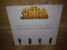 "ANNIE LENNOX & AL GREEN put a little love in your heart 12"" MAXI 45T"