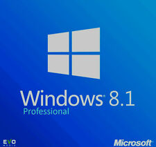 Windows 8.1 Professional  VOLLVERSION .32 BIT, 64 BIT  win 8.1 pro key