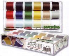 Madeira Aerofil Sew All Assortment Box (8041) 18 x 200m Reels Sewing Threads