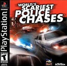 Playstation World's Scariest Police Chases Game COMPLETE
