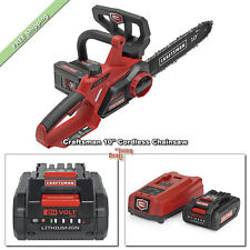 Cordless Chainsaw 10 inch Craftsman Chainsaws 24V Max Li-Ion Oregon Low-Kickback