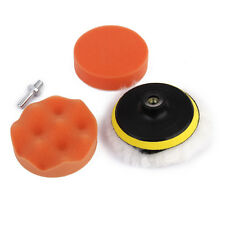"5pcs 4"" CAR POLISHING SPONGE BUFFING BUFFER PAD Kit FITS DRILL M10 MACHINE"