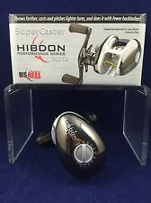 SALE! NEW! U.S. Reel - SuperCaster Hibdon 800SX - Bait Casting - Boxed