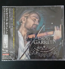 David Garrett - Rock Symphonies Japan SHM-CD + DVD + Bonus NEU ! 30 Tracks !