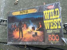 Vintage Jaymar Puzzle Wild West Swappin' Lies Still New In Sealed Box Never Open
