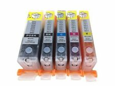 5 Refillable Ink Cartridges for Canon PGI-250 CLI-251 MG5420 MG5450 MG5520