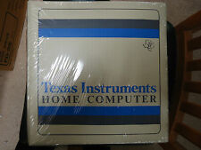 NEW NOS SEALED TEXAS INSTRUMENTS TI-99/4A FAMILY BEGINNING PACK 7011