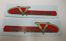 New Harley Gas Tank Decal Set 1955-1956 ST 61770-55