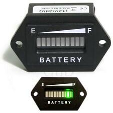 Battery Status Charge Indicator Monitor Meter Gauge LED Digital 12V & 24V XG