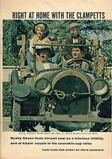 1962 TV ARTICLE~BEVERLY HILLBILLIES~RIGHT AT HOME WITH THE CLAMPETTS~4 PAGES