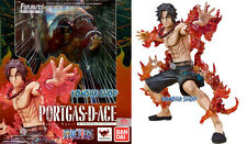 Bandai One Piece Portgas D ACE Figuarts Zero BATTLE VERSION 15 cm ORIGINALE