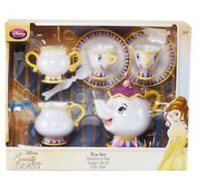 Disney Beauty and the Beast Tea Set Playset Kitchen Set Mrs. Potts Chip
