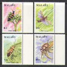 Malawi 1991 Insects/Nature/Beetles 4v set (n14842)