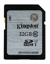 Kingston 32gb SDHC Class 10 (80mb/s Speed) SD10VG2/32GBFBR 32 GB With Warranty