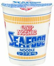 NISSIN Cup Noodle Seafood x10 Instant Ramen 6 mounth Free shipping