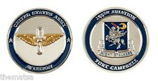 "ARMY FORT CAMPBELL NIGHT STALKERS 160TH AVIATION 1.75"" CHALLENGE COIN"