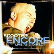 "Scooter ""encore-live and direct"" CD 17 tracks NEUF"