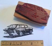 1955 Chevy Nomad Chevrolet Car RUBBER STAMP - tail gate open! Bel Aire wagon