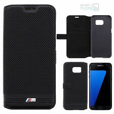 "BMW M Perforata SAMSUNG GALAXY s7 Edge 5,5"" Book CASE CUSTODIA TELEFONO"