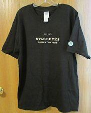 T-Shirt Starbucks Coffee Company EST 1971 Black Anniversary Mermaid Large NWT