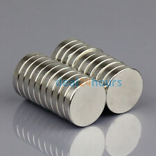 20pcs Strong Round Neodymium Magnets 20 mm x 4 mm Disc Rare Earth Neo N50 Grade
