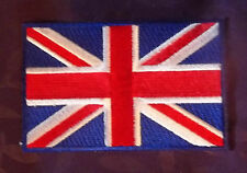 UNITED KINGDOM UNION JACK FLAG EMBROIDERED PATCH UK GREAT BRITTAIN SEW/IRON DIY