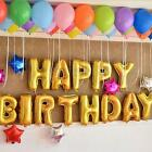 """13Pcs """"HAPPY BIRTHDAY"""" Letters Foil Balloons For Birthday Party Decoration 16"""""""