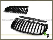 Gloss Black Front Kindey Grille Grill For BMW E90/E91 3-Series Sedan/Wagon 05-08