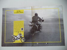 advertising Pubblicità 1988 MOTO SUZUKI DR 750 BIG S