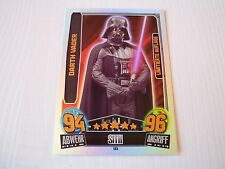 Limitierte  LE5  Darth Vader    Serie Movie 3  STAR WARS Karten FORCE ATTAX