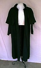 Gothic Victorian Steampunk Black Duster Costume Coat NOS 2001