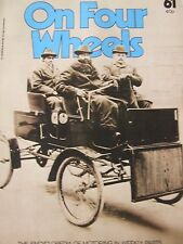 ON FOUR WHEELS MAGAZINE #61 WROUGHT IRON TO RACING CARS LISTER LOLA LOTUS