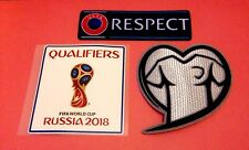 Russia-USSR 2018 World Football Cup Soccer Qualifiers Badge Patch Set