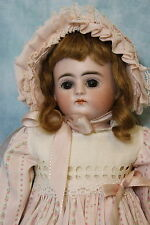 "13.5"" Antique Alphabet Series Kestner 'D' Doll Closed Mouth Turned Head ca. 1900"