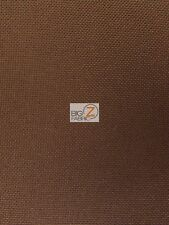 SOLID OUTDOOR WATERPROOF PVC BACKING FABRIC - Brown - BY YARD CUSHIONS AWNINGS