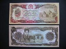 AFGHANISTAN  1000 Afghanis 1991  (P61c)  UNC