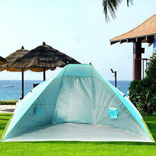 Portable Beach Canopy Fishing Camping Hiking Picnic Tent  Sun Shade Shelter