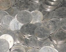 10,000 Coins LOT - MIXED YEARS -  Steel 25 Paise - RHINO -  india  = 30 kilos