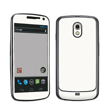 White Vinyl Case Decal Skin To Cover Verizon Samsung Galaxy Nexus