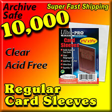 10000 ULTRA PRO BASEBALL CARD SLEEVES PENNY SLEEVES CASE -NEW- 81126-100