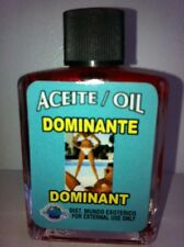 MYSTICAL / SPIRITUAL OIL (ACEITE) FOR SPELLS & ANOINTING 1/2 OZ DOMINATE