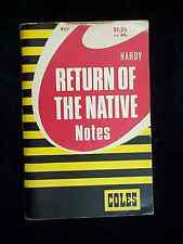 Hardy's Return of the Native (Coles Notes 1976) Paperback
