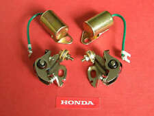 1970-78 Honda CONDENSER & CONTACT POINTS KIT cb750 cb750f cb550 cb550f cb500 cb