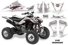 Suzuki LTZ 400 AMR Racing Graphic Kit Wrap Quad Decals ATV 2003-2008 WARHAWK SLV